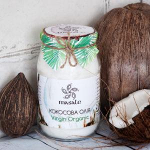 кокосовое масло Virgin Organic