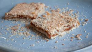 песочное тесто из кокосовых продуктов