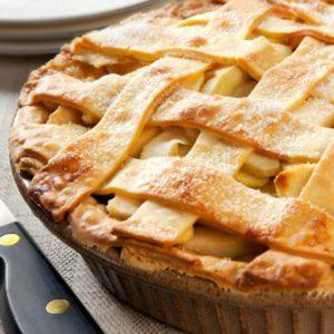 веганский пирог яблочный