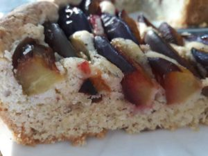 сливовый тарт по-баварски