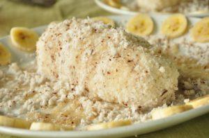 путту керальские сладости с бананом рисом