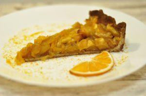 тарт карамелизированные яблоки