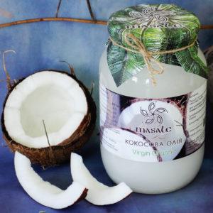 Virgin Organic кокосовое масло