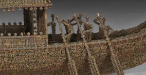човни з гвоздики мистецтво