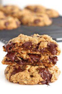 шоколадно-овсяное печенье